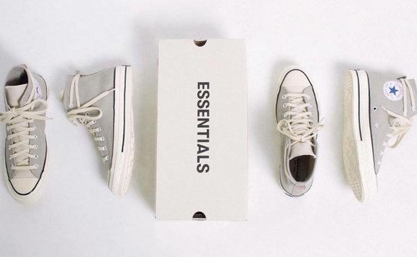 ESSENTIALS x 匡威联名 Chuck 70 全新配色鞋款释出,延续简约风