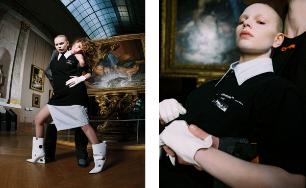 卢浮宫 X Off-White 联乘达芬奇主题限定系列发布,画作元素
