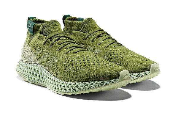菲董 x 阿迪达斯全新联名 4D Runner 系列鞋款本周上架