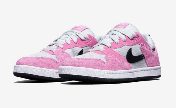 Nike SB Alleyoop 粉白配色鞋款曝光,运用高规格材质