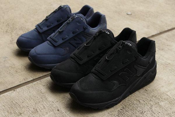 新百伦 x BEAMS x Mita 联名鞋款纯黑、海军蓝色两款配色释出