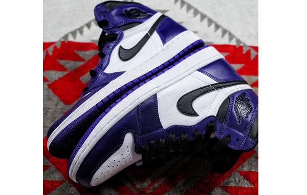 """Air Jordan 1 """"紫加哥""""鞋款实物细节图曝光,明年 4 月发售"""