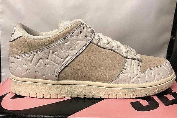 耐克 x Ben G 联名 Dunk SB Low 2.0 鞋款曝光,Swoosh 压印吸睛