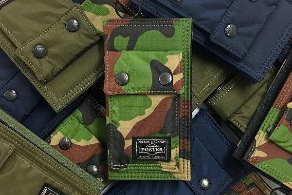 PORTER 丛林迷彩苹果手机保护套发布,耐用的军事风设计