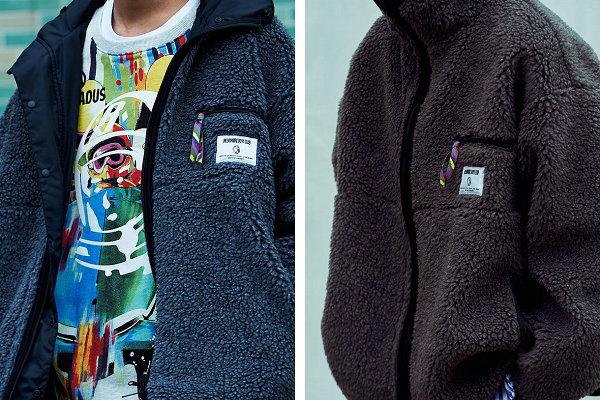 潮牌 BBC x Is-ness 秋冬联名双面穿羊羔绒夹克即将登场