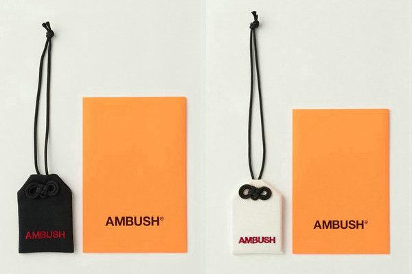 日潮 AMBUSH 新年限定御守、胸针配饰系列上架发售