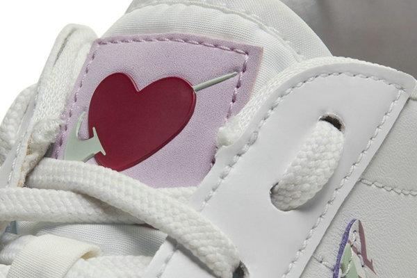 耐克 Blazer Low 鞋款全新情人节主题配色释出,助你浪漫表白!