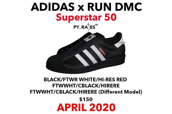 阿迪达斯 x Run-D.M.C. 联名 Superstar 鞋款即将迎来复刻