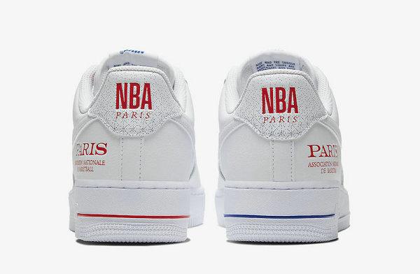 "Air Force 1 红白蓝配色""NBA Paris""鞋款出炉,致敬首场巴黎赛"