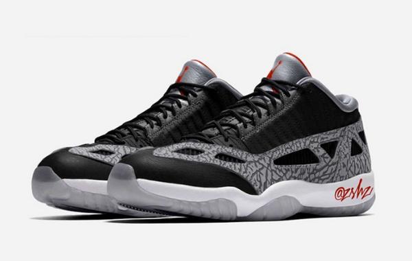 Air Jordan 11 Low IE 黑水泥配色鞋款发售日期公布,实战性强