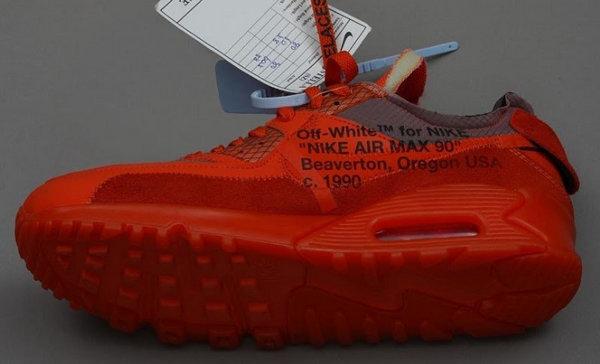 Off-White x Nike Air Max 90 全新大学红配色鞋款正式发售?