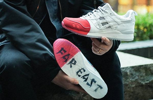 亚瑟士 x mita 联名 GEL-Lyte 3 红白配色鞋款即将登场