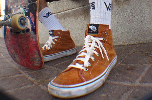 美潮 NOAH x 范斯联名 Sk8-Hi Decon 鞋款系列迎来发售