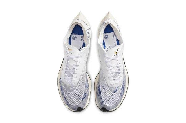 """耐克 ZoomX VaporFly NEXT%""""蓝带体育""""配色鞋款首次亮相"""