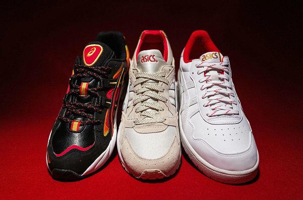 亚瑟士 2020 中国新年限定鞋款系列释出,烟花爆竹齐登场