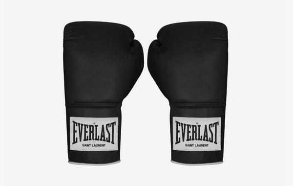 圣罗兰x EVERLAST 合作拳击主题系列释出,全黑呈现!