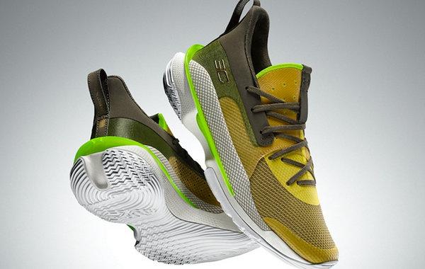 UA Curry 7 全新黑人月配色签名球鞋官图曝光,下周发售!