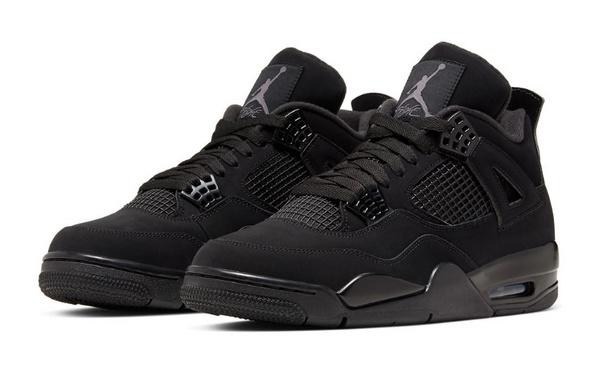 """Air Jordan 4""""黑猫""""配色鞋款复刻发售,黑魂魅力难抵挡"""