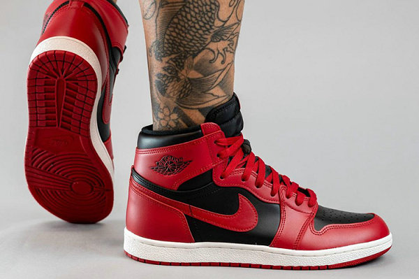 "Air Jordan 1 反转黑红配色""Reverse Bred""鞋款上脚图来袭"