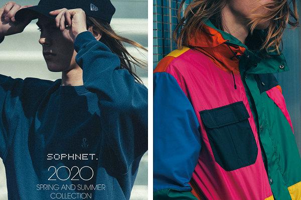 SOPHNET. 2020 春夏系列抢先预览,主打现代极简主义
