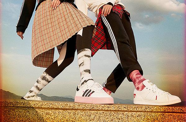 阿迪达斯 2020 情人节主题鞋款系列释出,桃心印花够浪漫