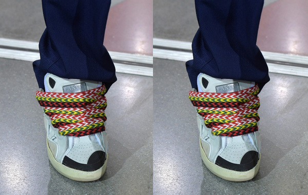 Lanvin(朗文)全新球鞋亮相时装周,Osiris D3 为灵感设计