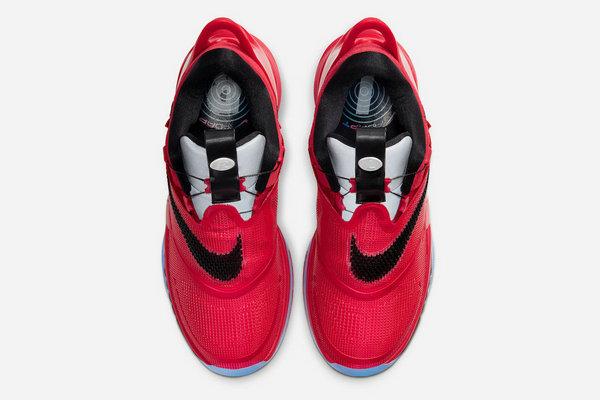 Nike Adapt BB 2.0 芝加哥活力红配色鞋款释出,质感高级
