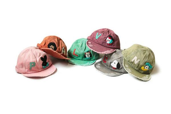 KAPITAL 全新 Katsuragi Kola 手工棒球帽系列上线,古着质感