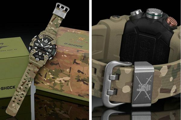 卡西欧 G-SHOCK x 英国陆军联名 Mudmaster 腕表系列释出