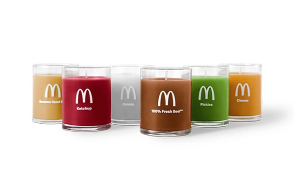 麦当来汉堡包组合香薰蜡烛套装发售,珍贵限量版