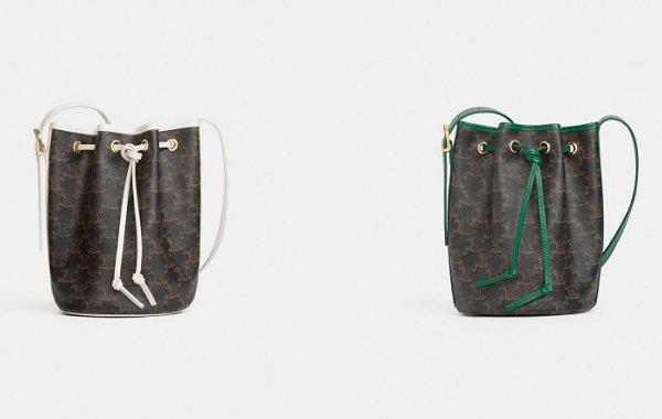 Celine 全新 Triomphe Canvas 系列包袋即将开售,细节变化