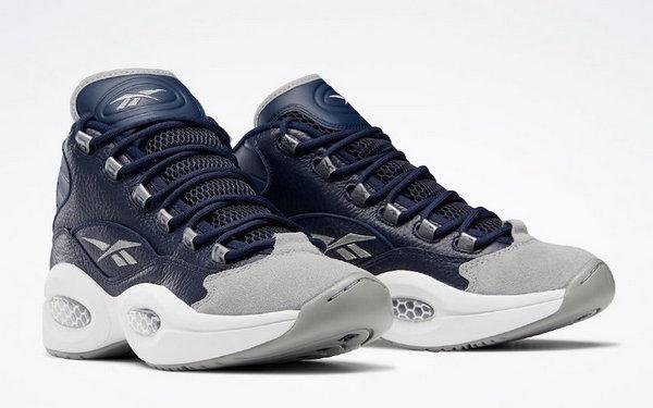 """锐步 Question Mid 乔治城配色""""Georgetown""""鞋款抢先预览"""