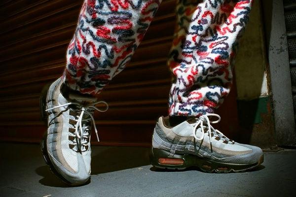 """Air Max 95""""110""""特殊配色鞋款释出,致敬伦敦街头文化"""