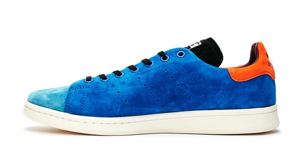 """阿迪达斯 Stan Smith 鸳鸯麂皮""""Recon""""鞋款海外发售,质感斐然"""