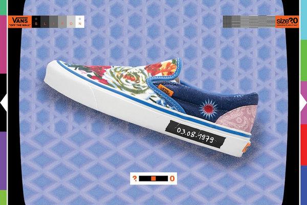 """范斯 x Size? 联名 Slip-On""""New Wave""""鞋款即将登场"""
