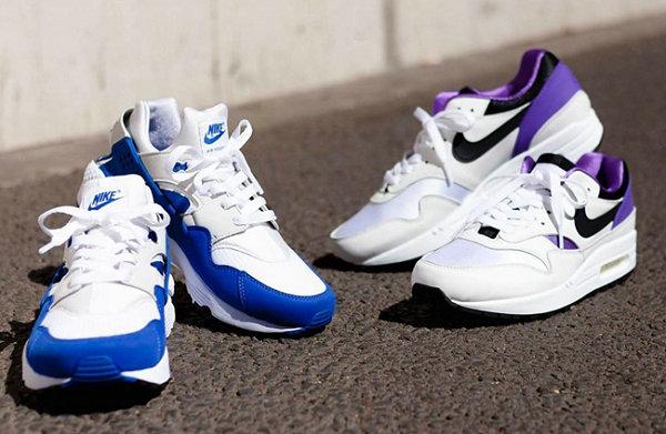耐克 2020 DNA Pack 鞋款系列上架,白紫与白蓝经典互换