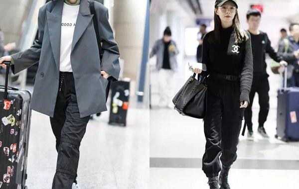 黑色束脚裤搭配叠穿T恤.jpg