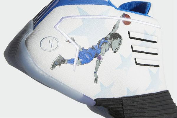 阿迪达斯 T-MAC 1 鞋款全新魔术队球衣主题配色面世,有点特别