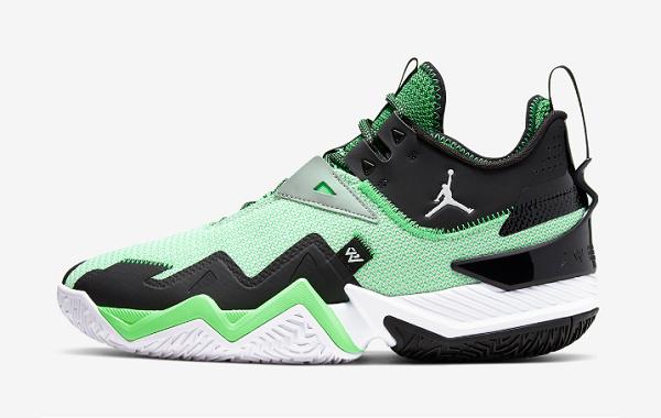 Jordan 威少 One Take 鞋款官图释出,黑绿撞色抢眼