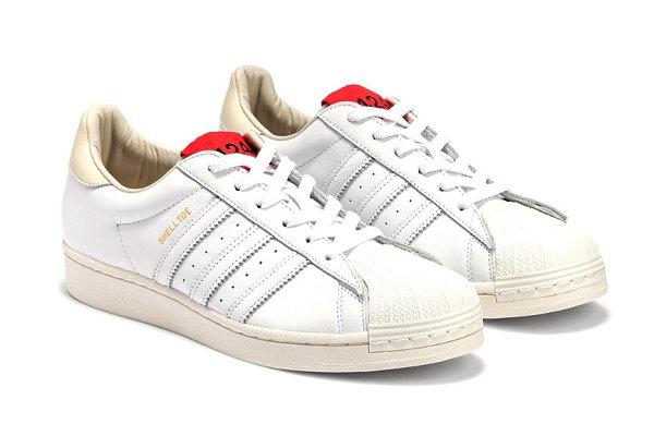 424 x 阿迪达斯联乘贝壳头鞋款正式发售,简约高端质感