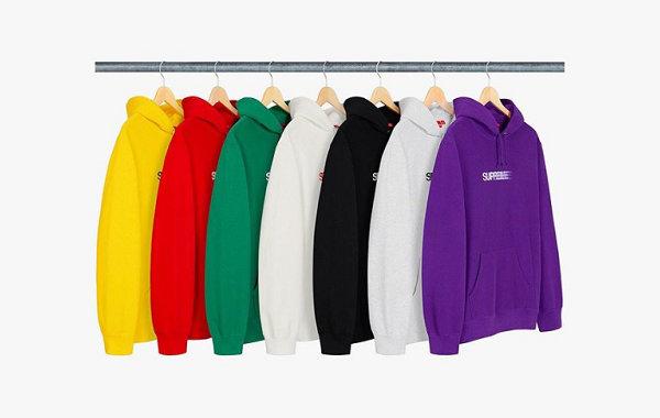 "Supreme""幻影""Logo 帽衫系列本周发售,共 7 款配色"