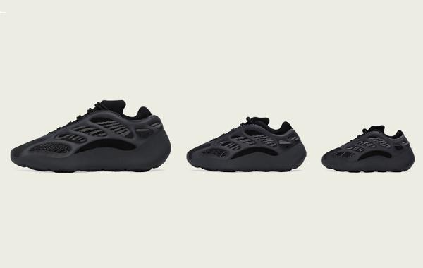 "YEEZY 700 V3""黑武士""配色鞋款周六发售,夜光特性"