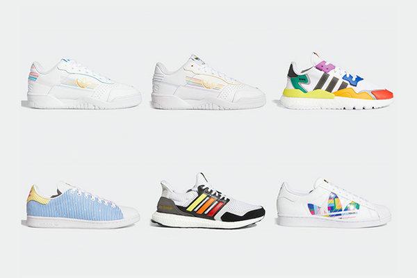 阿迪达斯 2020 全新彩虹 Pride 系列鞋款发售日期公布