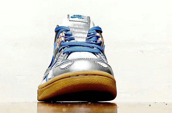 """耐克 x Off-White 联名 Rubber Dunk 大学蓝""""University Blue""""鞋款曝光"""