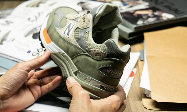 新百伦 x WTAPS 全新联名 M992WT 鞋款国内发售详情正式公布