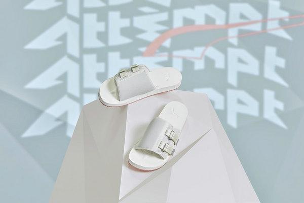 彪马 x ATTEMPT 全新联名 PUMA Wilo ATTEMPT 拖鞋释出
