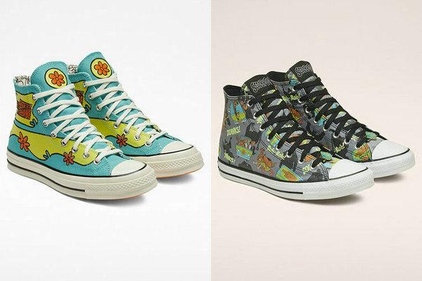 匡威 x 《史酷比狗》全新动漫别注联名系列鞋款上架发售