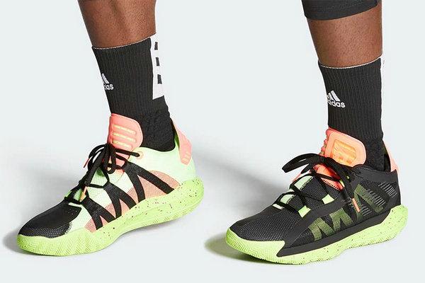 利拉德战靴 Dame 6 全新珊瑚橙配色释出,诱人活力气质