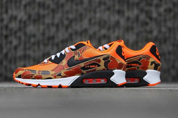 "Air Max 90 鞋款全新""Orange Camo""配色释出,颜值逆天"