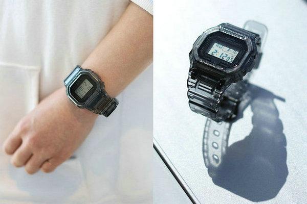 卡西欧 x BEAMS 全新联名半透明系列腕表即将上架